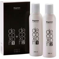 Kapous Professional Средство для удаления краски с волос( смывка) Decoxon 2 Faze, 200 мл + 200 мл