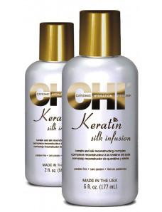 CHI Keratin Silk Infusion Жидкий натуральный шелк