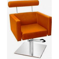 Кресло парикмахерское Comair Barcelona оранжевое