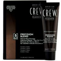 American Crew Precision Blend Система маскировки седины - УРОВЕНЬ - 4-5, 3 x 40 мл