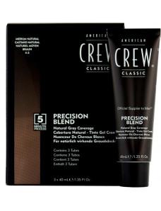 American Crew Precision Blend Система маскировки седины, 3 x 40 мл