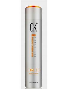 Global Keratin Resistant 4% Cредство для лечения и выпрямления жестких волос с защитой от УФ-лучей, 300 мл.