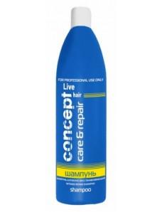 Concept Шампунь для волос восстанавливающий, 1000 мл.