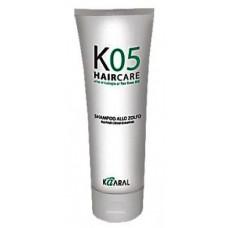 Kaaral К 05 Sulphur Cream Shampoo - Специализированный трихологический крем-шампунь на основе серы, 200 мл.