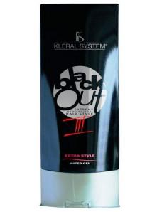 "Kleral System Black Out Line Extra Style 03 - Крем-гель эффект ""Мокрых волос"", 200 мл"