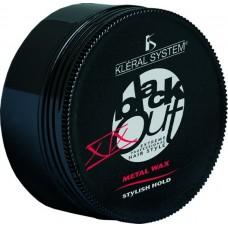 Kleral System Black Out Line Metal Wax XIX Воск с блеском, 100 мл