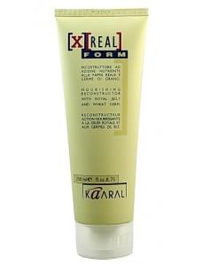 Восстанавливающий крем-кондиционер с маточным молочком и пшеничным протеином - Kaaral X-Real Reconstructor Cream