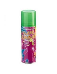 Fluo Hair Clour green - Спрей для волос зеленый, 125 мл.