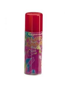 Красный спрей для волос - Fluo Hair Colour red, 125 мл.