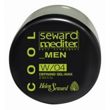Helen Seward Defining Gel-wax W/04 - Мужской гель-воск для волос, 75 мл.