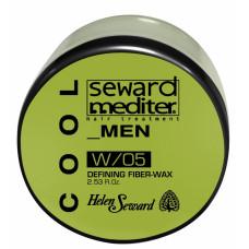 Helen Seward Defining Fiber-wax W/05 - Матовый воск для волос, 75 мл