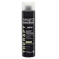 Helen Seward Therapy MEN 11/S - Мужской себорегулирующий шампунь для жирных волос, 1000 мл
