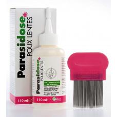 Parasidose+ (Паразидоз+) противопедикулезное средство для детей и взрослых, 110 мл