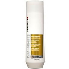 Goldwell DualSenses Rich Repair Cream Shampoo Шампунь для восстановления волос,  250 мл