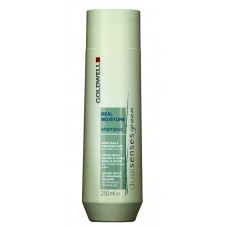 Goldwell DualSenses Green Real Moisture Shampoo Шампунь увлажняющий для окрашенных волос, 250 мл.