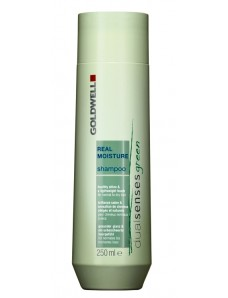 Шампунь увлажняющий для окрашенных волос - Goldwell DualSenses Green Real Moisture Shampoo 250 ml