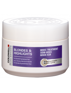 Goldwell dualsenses Blondes Highlights Маска интенсивный уход за 60 секунд для осветленных и меллированых волос, 200мл