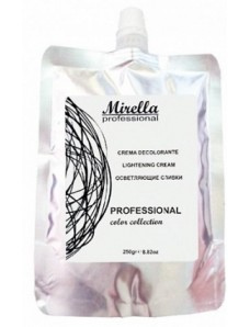 Mirella Professional Осветляющий крем-сливки для волос 250 мл