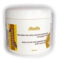 Mirella Professional Royal Jelly Cream - Восстанавливающая маска с маточным молочком для сухих и поврежденных волос, 500 мл