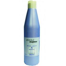 Salerm Absolut Straightener 1 Pre-Treatment Средство для подготовки волос, 250 мл