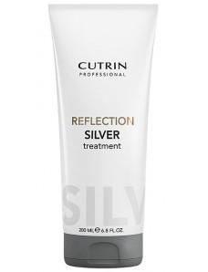 Cutrin Reflection Color Care Маска оттеночная СЕРЕБРИСТЫЙ ИНЕЙ для поддержания цвета, 200 мл