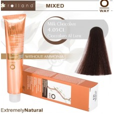 Rolland Hcolor Безаммиачная краска для волос 4,05 Молочный шоколад, 100 мл