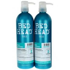 Tigi Bed Head Recovery Набор для увлажнения сухих волос  750 мл*2