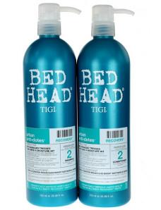 Tigi Bed Head Recovery Эконом набор для увлажнения сухих волос Шампунь 750 мл+ Кондиционер 750 мл