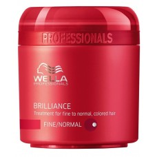 Wella Brilliance Treatment - Маска для тонких и нормальных окрашенных волос, 150 мл