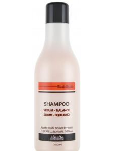 Mirella шампунь для волос, склонных к жирности, 1000 мл.
