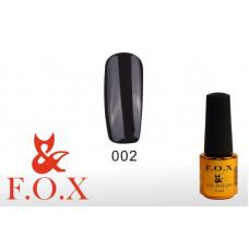 F.O.X Pigment тон 002 Гель-лак для ногтей, 6 мл