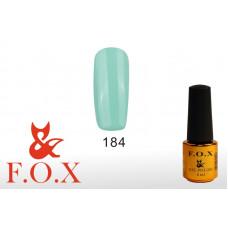 F.O.X Pigment тон 184 Гель-лак для ногтей, 6 мл