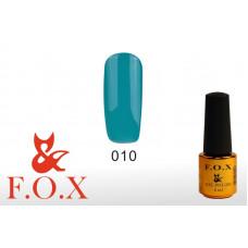 F.O.X Pigment тон 010 Гель-лак для ногтей, 6 мл