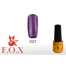 F.O.X Pigment тон 027 Гель-лак для ногтей, 6 мл