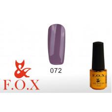 F.O.X Pigment тон 072 Гель-лак для ногтей, 6 мл