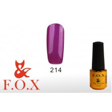 F.O.X Pigment тон 214 Гель-лак для ногтей, 6 мл
