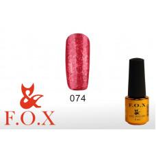 F.O.X Pigment тон 074 Гель-лак для ногтей, 6 мл