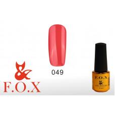 F.O.X Pigment тон 049 Гель-лак для ногтей, 6 мл