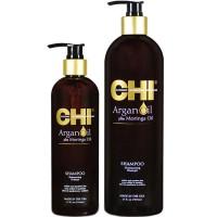 CHI Argan Oil Shampoo - Шампунь питательный восстанавливающий 739 мл