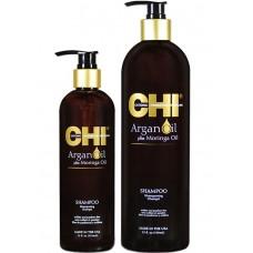 CHI Argan Oil Shampoo - Шампунь питательный восстанавливающий
