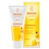 Weleda Крем для младенцев с календулой для защиты кожи в области пеленания (Calendula Babycreme) 75 мл
