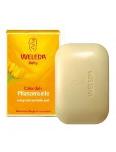 Weleda Растительное детское мыло с календулой (Calendula-Pflanzenseife) 100 г