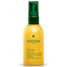 Rene Furterer Okara Light Activating Leave-in Fluid Несмываемый нектар Окара для сияния меллированных волос 100 мл