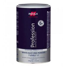 Indola Profession Rapid Blond+  Беспылевой осветляющий порошок белый, 500 мл