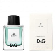 Dolce & Gabbana D&G Anthology Le Fou 21 Туалетная вода (тестер) 100 мл