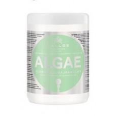 Kallos Cosmetics Algae Mask Маска для волос с экстрактом водорослей и оливкового масла 1000 мл