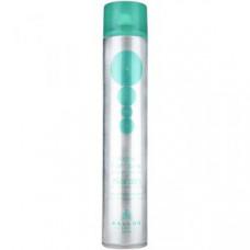 Kallos Hair Spray Extra Strong Лак-спрей для волос экстрасильной фиксации с кератином и протеинами шелка 750 мл