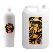 Kallos Vanilla shine shampoo Шампунь для сухих и тусклых волос с ванильным экстрактом 1L/5L