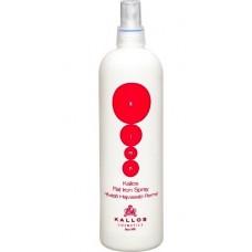 Kallos Flat Iron Spray - Термозащита спрей для волос, 200 мл