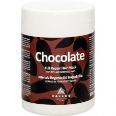 Kallos Шоколад Интенсивная регенерирующая маска для сухих и посечённых волос 275/1000 мл